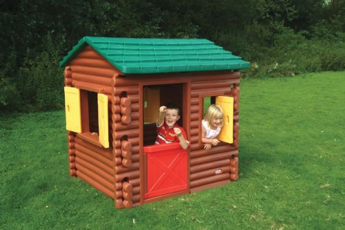 Plastic Forest Log Play Cabin